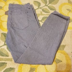♥️3 for $30♥️ J. Crew toothpick striped pants